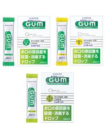 ガム・メディカルドロップ (口腔咽喉薬)