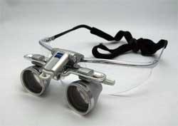 双眼ルーペ EyeMag Smart sports frame