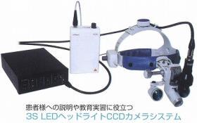 3S LEDヘッドライトCCDカメラシステム
