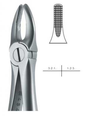 抜歯鉗子 #2 Sタイプ