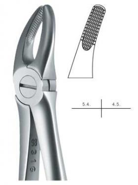 抜歯鉗子 #7 Eタイプ