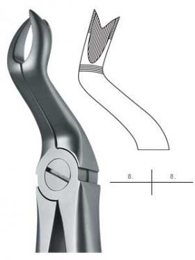 抜歯鉗子 #67LX Eタイプ