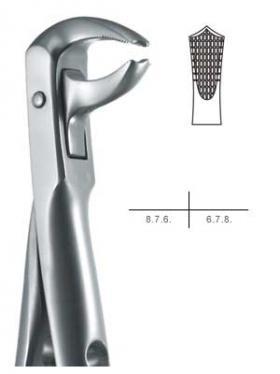抜歯鉗子 #73 Sタイプ