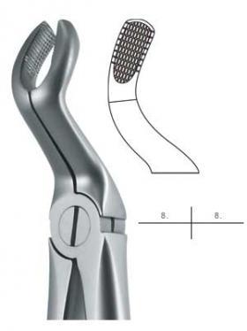 抜歯鉗子 #67A Sタイプ