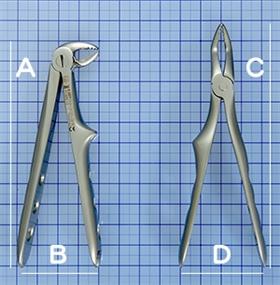 ドイツ製 小児用抜歯器具