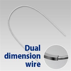 Dual Dimension Wire